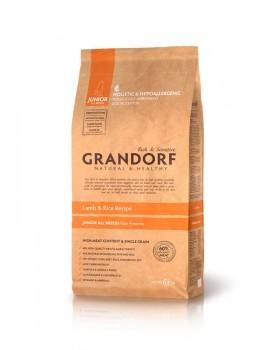 Сухой корм GRANDORF - ягненок с рисом для юниоров всех пород