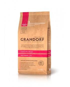 Сухой корм GRANDORF - ягненок с рисом для средних пород