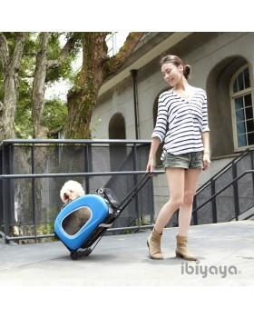 Сумка-тележка 3 в 1 для собак до 8 кг  Ibiyaya (сумка, рюкзак, тележка)