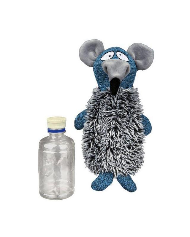 35794 Игрушка Крыса с бутылкой