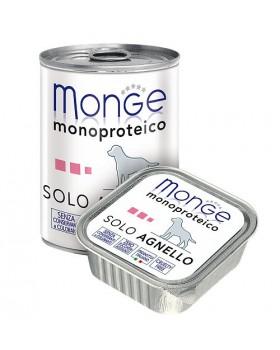 Monge Dog Monoproteico Solo консервы для собак паштет из ягненка