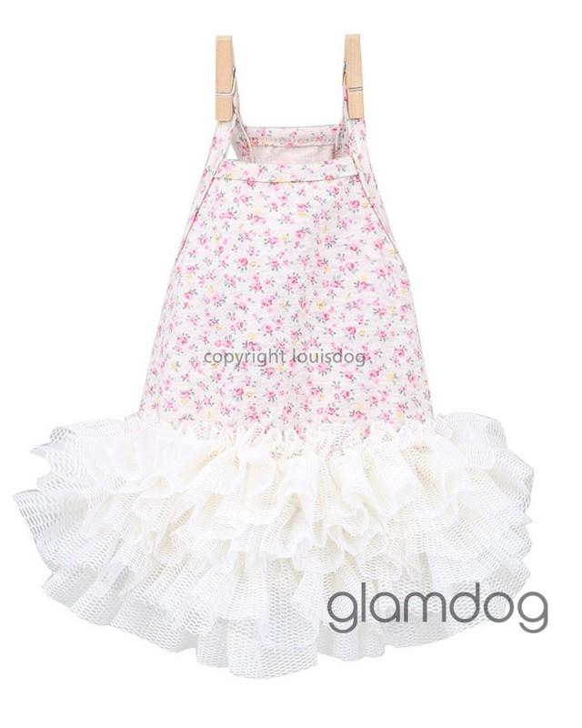 """1575 LD Платье для собачки """"Дачница"""""""