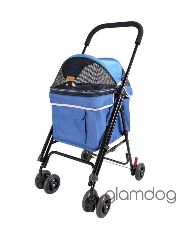 Коляска Astro Mini Pet Buggy синяя