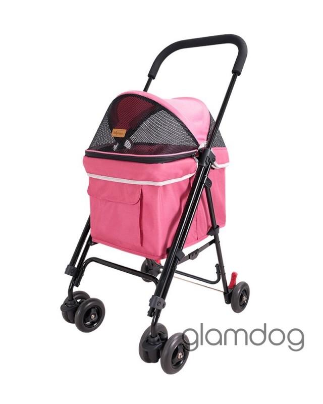 Коляска Astro Mini Pet Buggy розовая