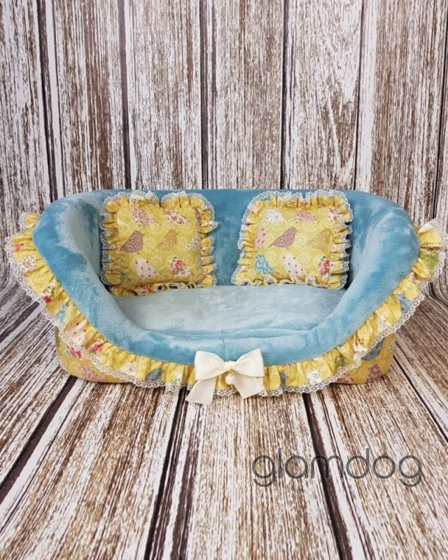 """1782 DB Лежанка диван """"Птицы"""""""