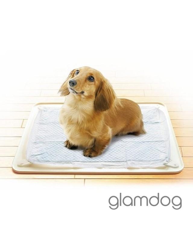 TIM-02.PF/W Силиконовый коврик для собачьего тyалета.
