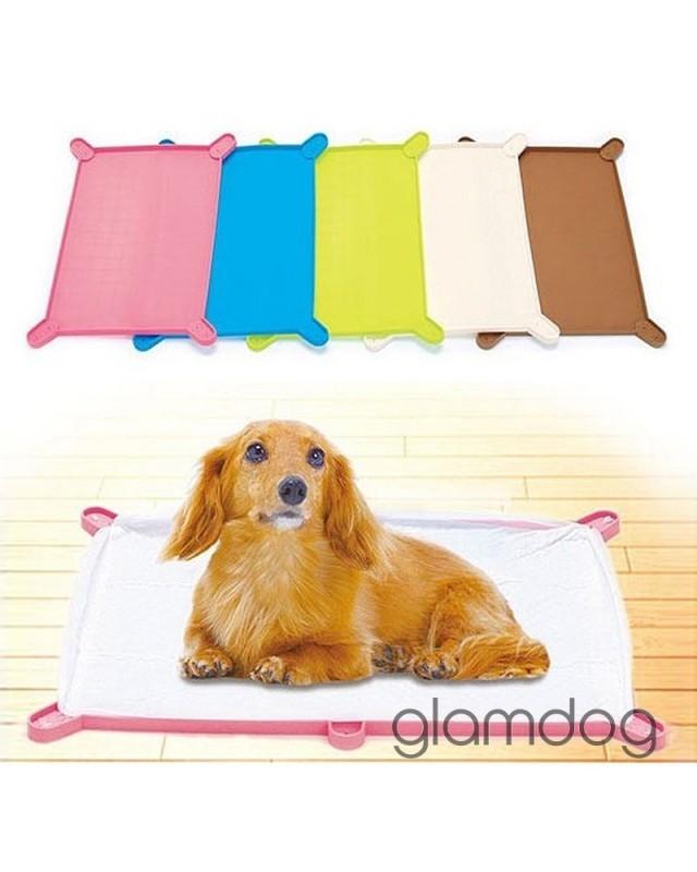 04 TIM-PF/W Силиконовый коврик для собачьего тyалета.