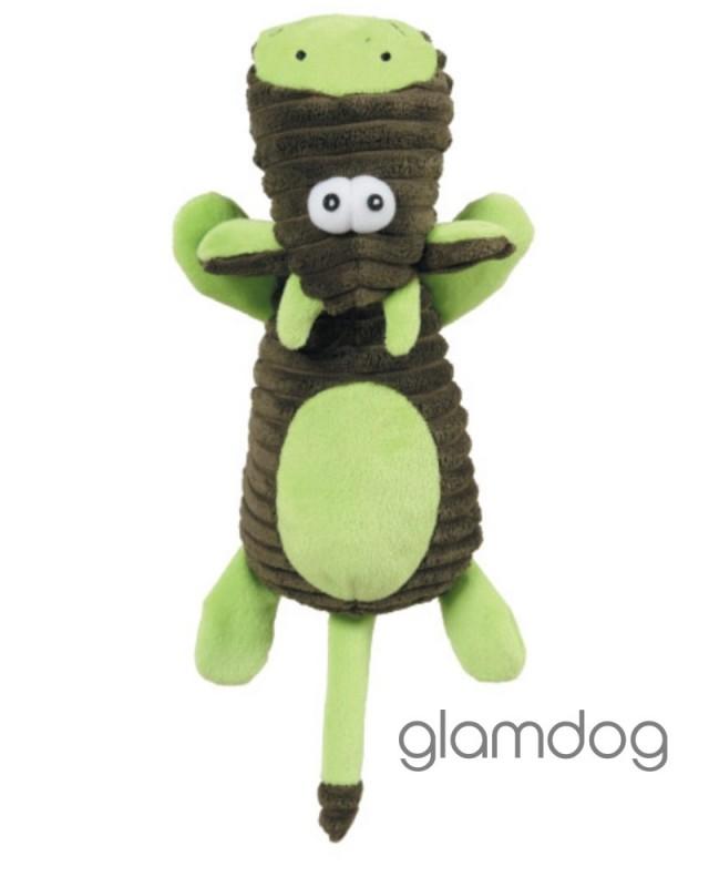 480271 Игрушка плюшевая для собак Зеленая Корова