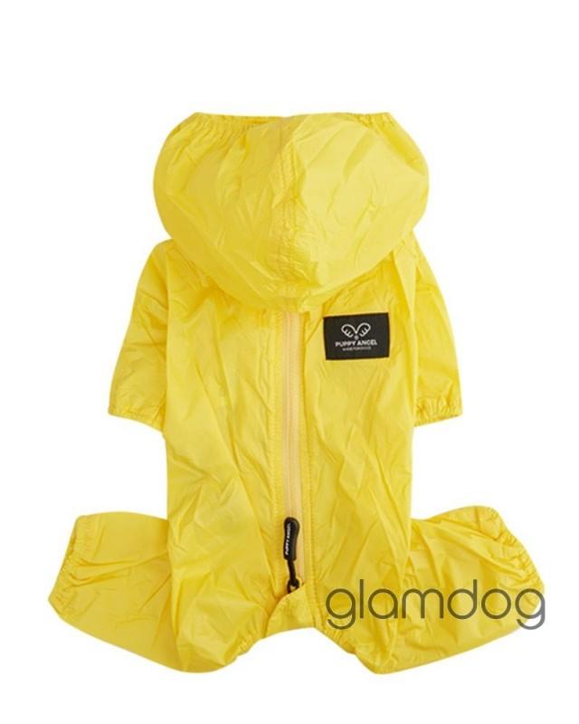002 PA-OW Дождевик/пыльник с капюшоном для девочки