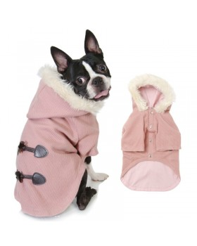 028 PA-CT Пальто в стиле дафлкот