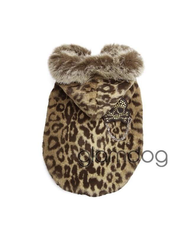 "135 Шуба ""Леопард"""
