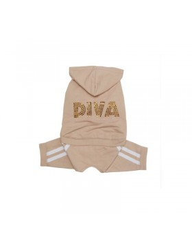 "009 PA-PT Спортивный костюм ""Diva"" со стразами"