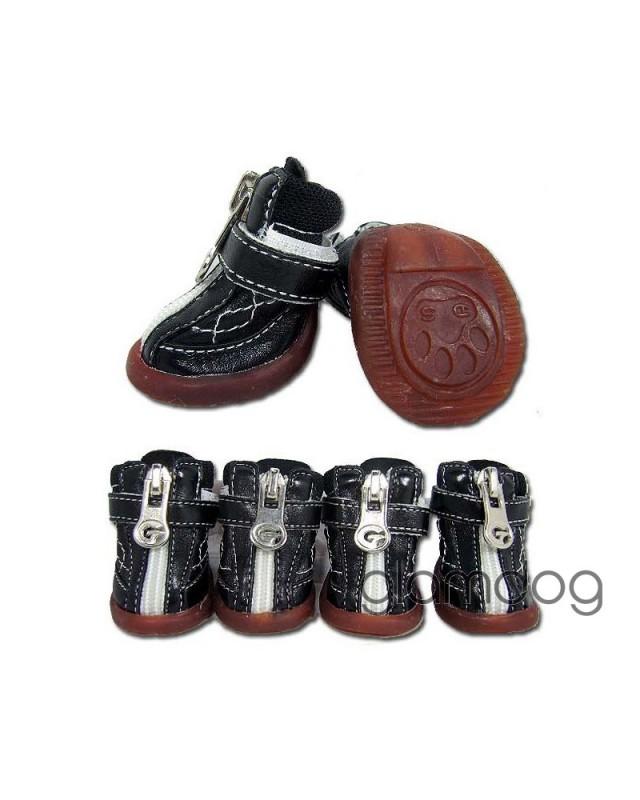 546 Ботинки кожаные на молнии
