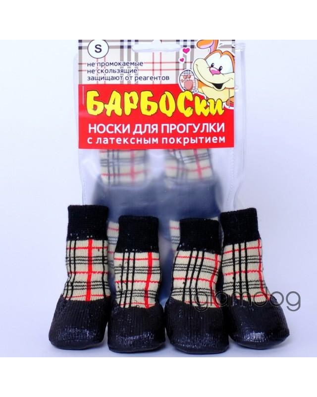 9000 Барбоски носки с латексной подошвой