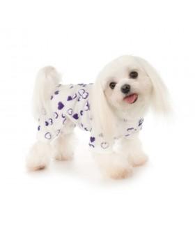 """001 PA-PJ Пижама """"Сердечки"""" для любимой собаки"""