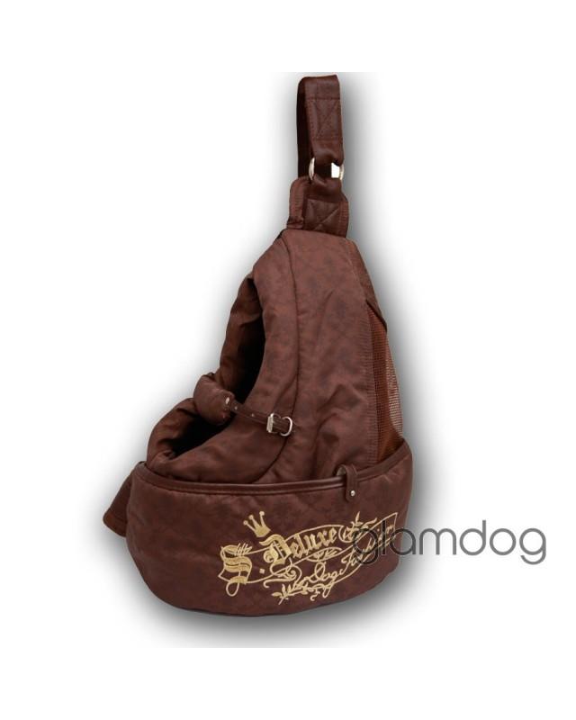"""1199 Рюкзак """"Версаль"""" для переноски собак"""
