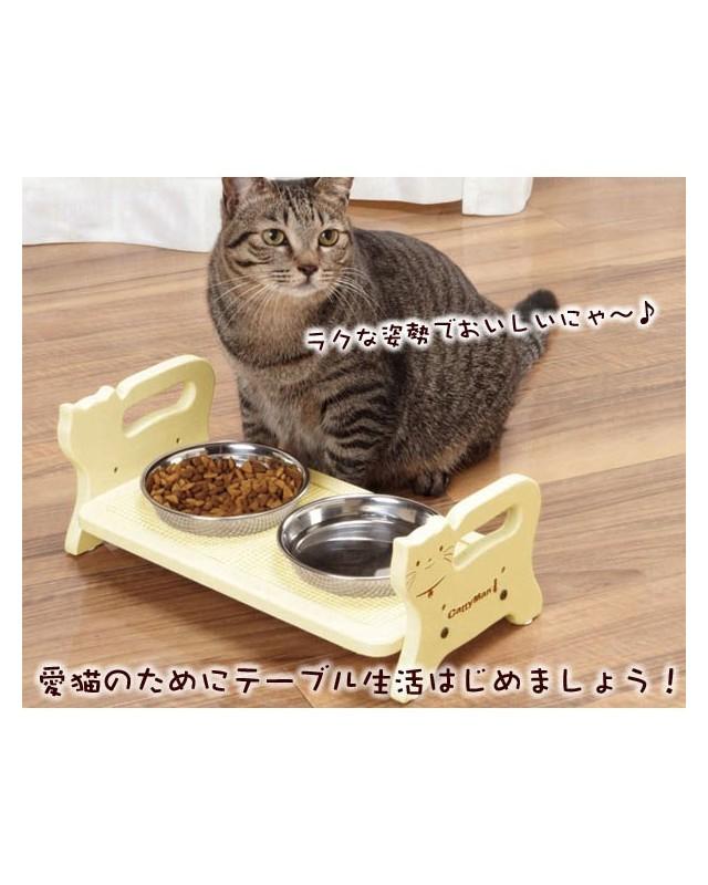 """93336 Японский деревянный столик """"Кошечка"""""""