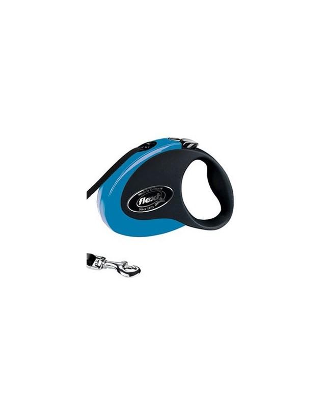 """43102F Рулетка для собаки FLEXI """"COLLECTION"""" синяя"""