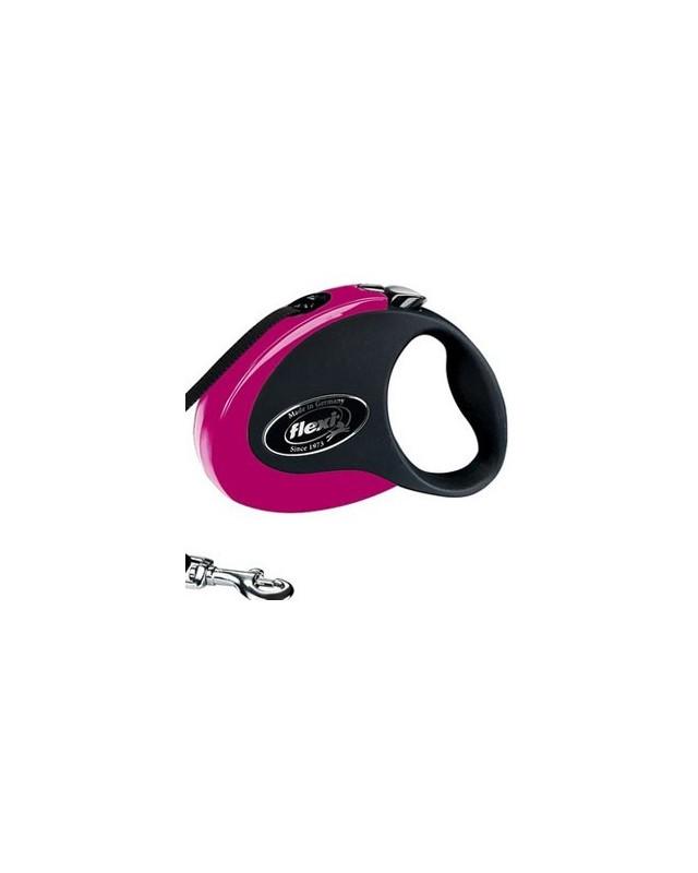 "43106F Рулетка для собачки FLEXI ""COLLECTION"" розовая"