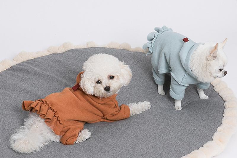 платье из флиса для собак