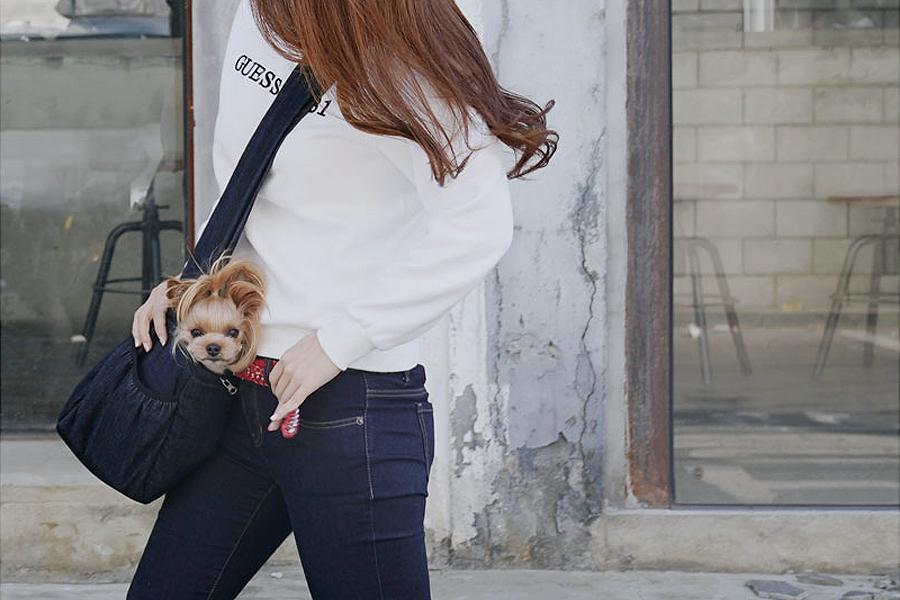 Сумка джинсовая Puppy Angel