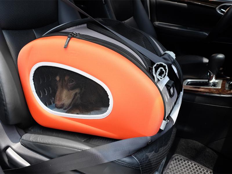 автокресло для перевозки собак в автомобиле