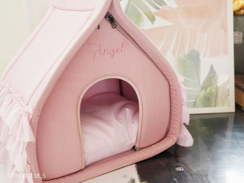 домик из текстиля для собаки