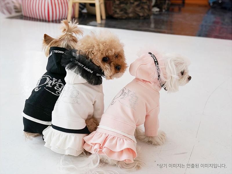 трикотажное платье для собак
