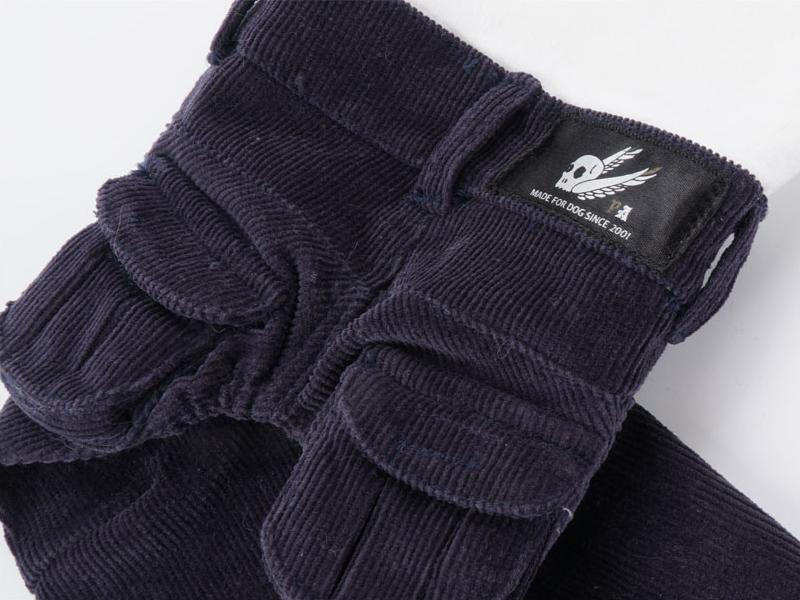 брюки из вельвета для собак