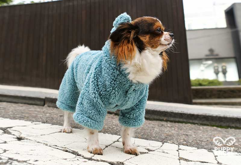 меховой комбинезон для собаки