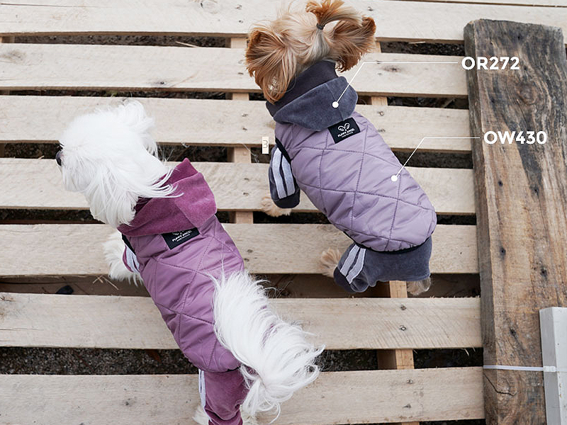 стеганая куртка для собаки