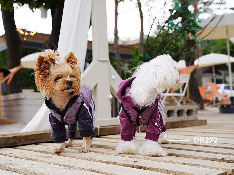 теплый жилет для собаки