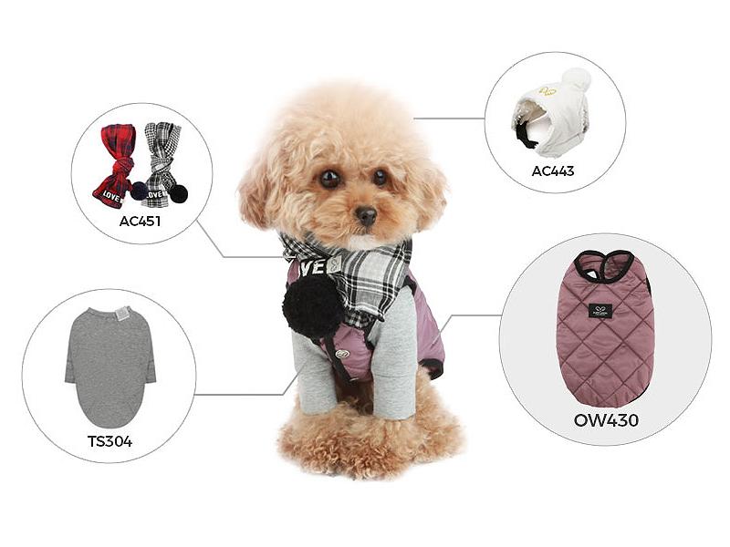 стильный жилет для собаки