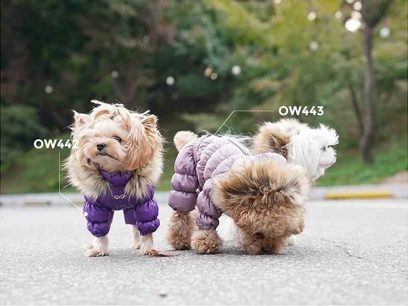 Зимний комбез для собаки девочки