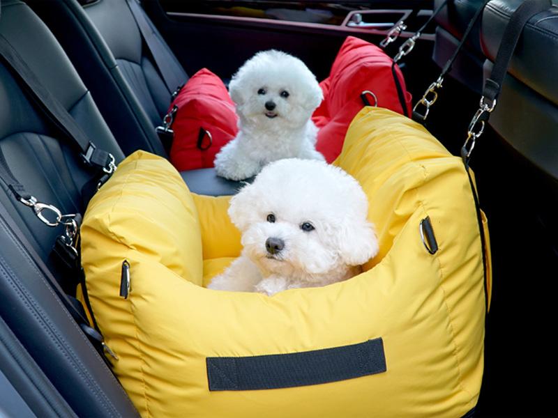 """023 PA-TR Автокресло - переноска """"PETRARI"""" для собак в автомобиле"""
