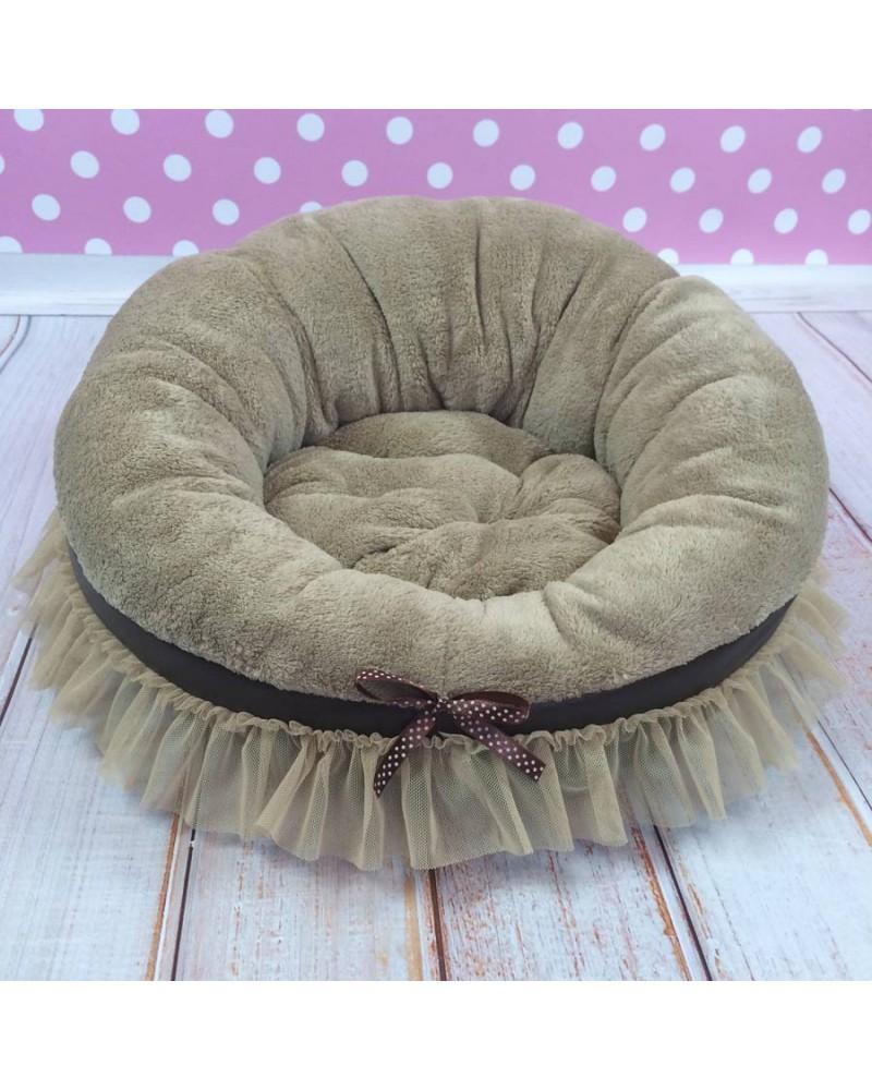 Лежанка для собаки из одеяла своими руками