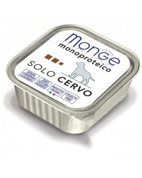 Monge Dog Monoproteico Solo консервы для собак паштет из оленины