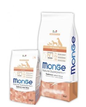 Monge Dog Speciality корм для собак всех пород лосось с рисом