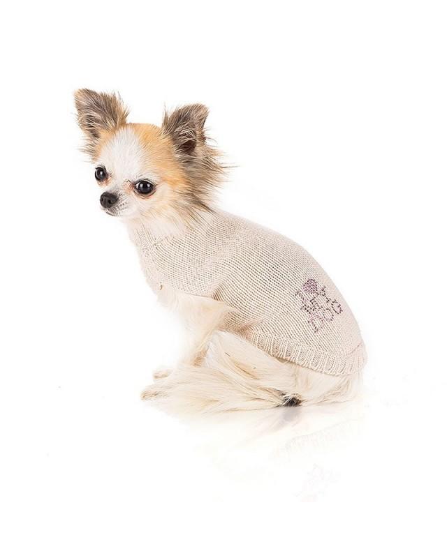 "300 PK Свитер с лого ""I love my dog"" кашемир"