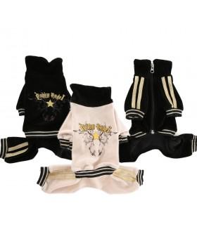 132 PA-OR Велюровый спортивный костюм для собаки