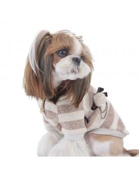 022 PA-SW Полосатый кардиган для собак