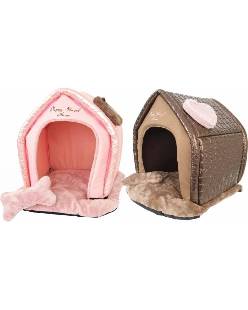 Как сделать домик для маленькой собачки